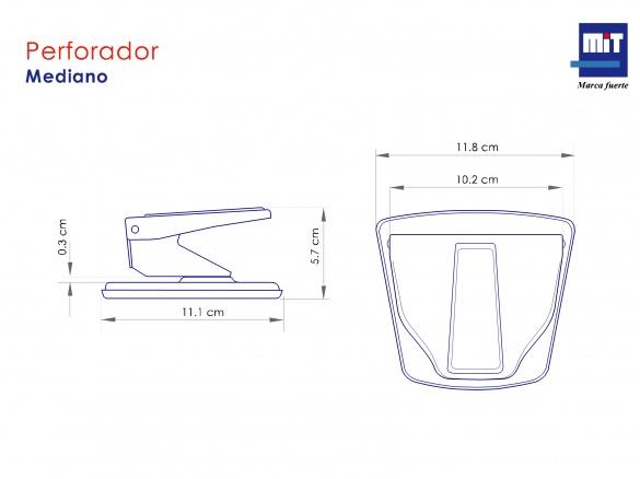 Perforador Cromado